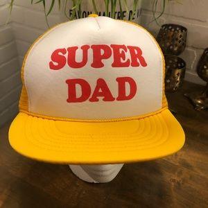 Vintage Russ Brand Super Dad Trucker Hat